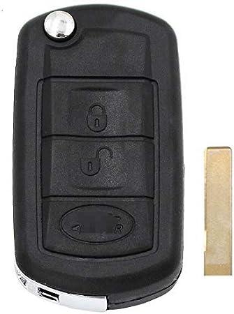 Ersatzschale Falten 3 Tasten Remote Flip Elektronik