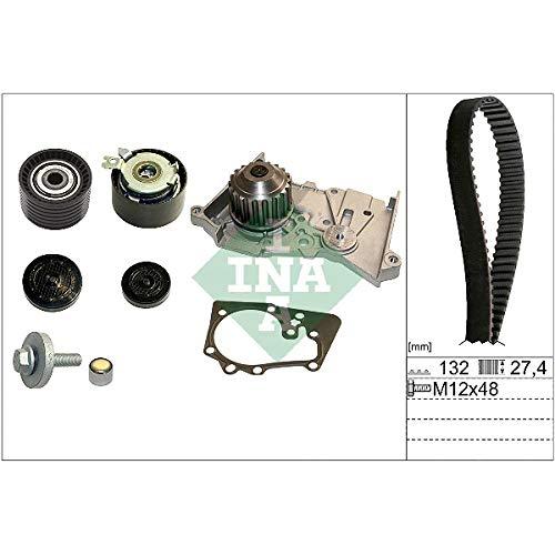 Kit de Distribución con Bomba de agua INA Para: Nissan Aprio L4 2008 AL 2008, Nissan Aprio DOHC 16…