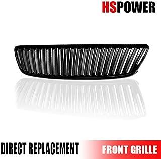 HS Power Matte Black Vertical Front Hood Bumper Grill Grille 98-05 Compatible with Lexus Gs300/Gs400/Gs430 MPN: LX1200107