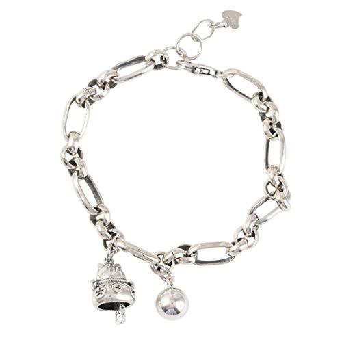 APCHY 925 Sterling Siling Wealth Cat Bracelet Women, Estudiante Retro Hand Jewelry Bangles Chain for Ladies Pulseras Cumpleaños Regalos De San Valentín para Mujeres/Mamá/Esposa