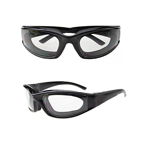 Paracity cipolla occhiali occhiali Tearless barbecue Grilling occhialini per casa cucina all' aperto barbecue Black