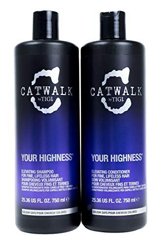 New Release 2013 - Tigi Catwalk Your Highness Elevating Shampoo & Conditioner Tween Set Liters 25.36 Oz by TIGI