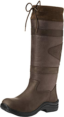 Toggi Botte De Cuir Long Canyon Chocolate - Chocolat, Taille 50