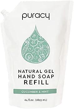 Puracy Natural Liquid Hand Soap Refill 64 Ounce