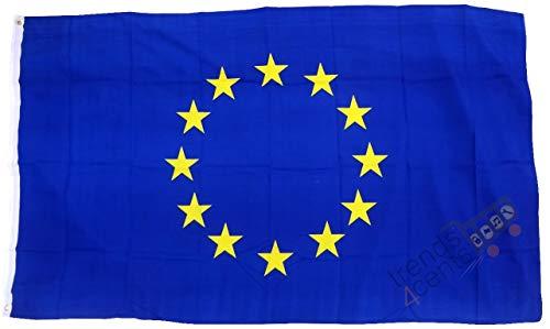 Große Flagge Europäische Union, EU 12Sterne, 90x 150cm