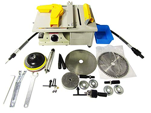 Why Should You Buy KUNHEWUHUA Mini Bench Lathe Machine Multifunctional Electric Grinder Polisher Dri...
