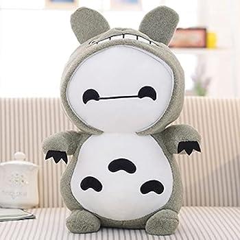 Miyazaki Hayao Anime Plushies Cartoon Totoro Baymax Stuffed Animal Plush Figure Toy Kids  Plush Pillow Toy Children s Birthday Gift 30cm B