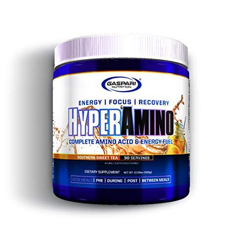 Gaspari Nutrition Hyper Amino Integratore Polvere, Southern Sweet Tea - 300 g
