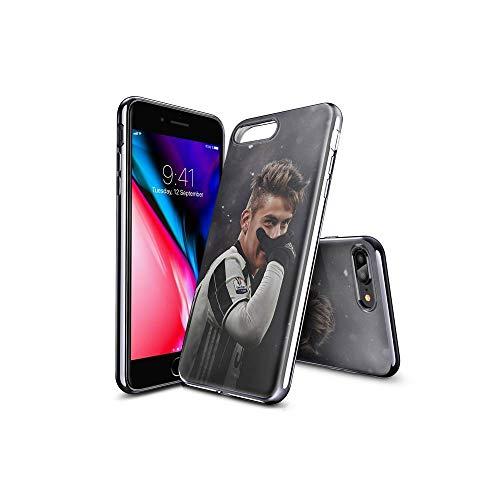 TsFKxEU Compatibile con iPhone 7 Plus Cover e iPhone 8 Plus Cover Motivo, Trasparente, Morbida, Ultra Sottile, Resistente agli Urti, AntiGraffio, per iPhone 7 Plus/iPhone 8 Plus FKX#C002
