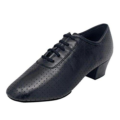 Ray Rose - Damen Trainerschuhe/Practice Shoes 415 Solstice - Leder Schwarz - Normalweite - 4 cm Blockabsatz [UK 6]