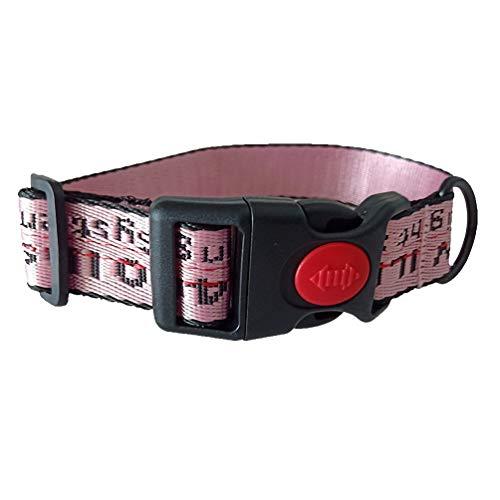 Pet Dog Collar Dog Harness Leash Set Durable Adjustable Dog Leash French Bulldog Pet S Colllar Pink S