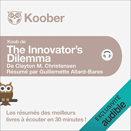 The Innovator's Dilemma de Clayton M. Christensen cover art