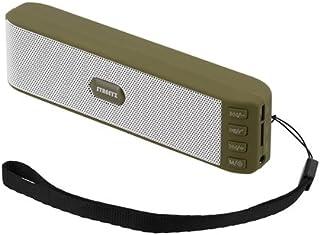 STREETZ v2.1 + EDR Bluetooth-högtalare med MicroSD och FM-radio – grön