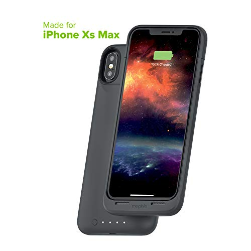 Mophie 401002411 Juice Pack Air - Wireless Charging - Protective Battery Pack Case for Apple iPhone Xs Max - Graphite