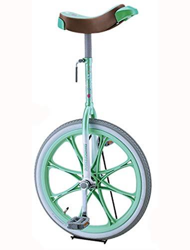 BRIDGESTONE(ブリヂストン) スケアクロウ 一輪車(スタンド付) 20インチ(SCW20) [グリーン(GE)]
