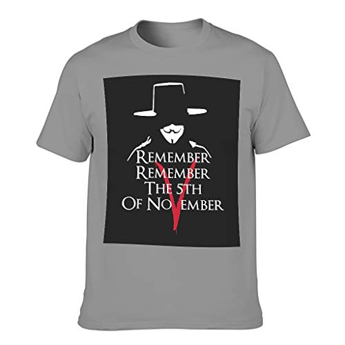 XunYun Remember Remember-The 5th of November - Camiseta ligera para niños y niñas