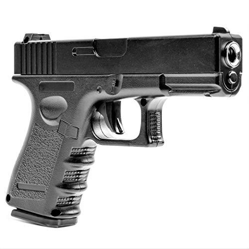 Germanseller Pistole Voll Metall Softair Plastic Erbsenpistole G15 Replika Glock 17 + 1000 BB