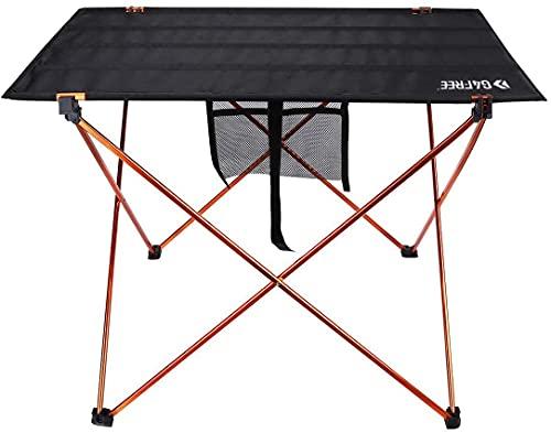 G4Free Table de Camping Pliante Portable Ultra Légère en Aluminium avec Sac de Transport pour Camping Randonnée Pique-Nique