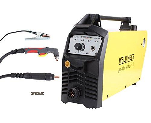 WELDINGER Plasmaschneider PS 45 mit Wartungseinheit Pilotlichtbogen 40 A Leistung bis 25 mm Schnitttiefe (Plasmaschneidgerät) 5 Jahre Garantie