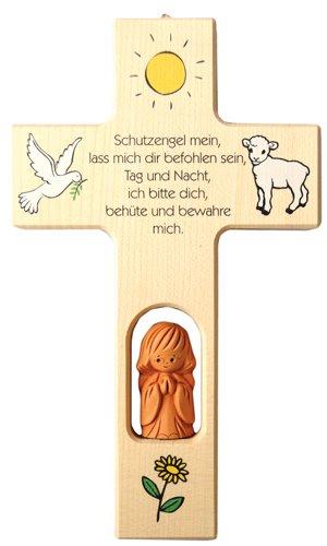 Unbekannt Neumeyer Kinderkreuz, Holz, Natur, 20 x 12 x 2,5 cm