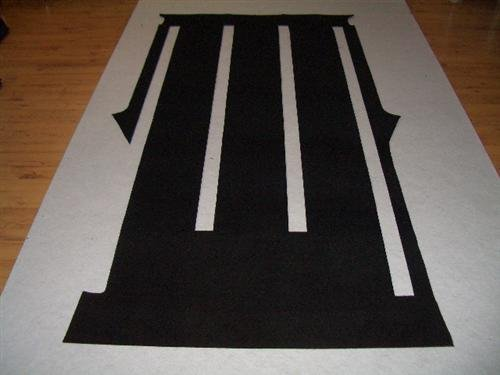 Gastraum Komplett Teppich Fußmatte hinten DSX447