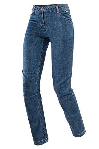 Ferrino Zero1 Pants Woman TG 46 Denim, Pantalon Long Femme, Bleu