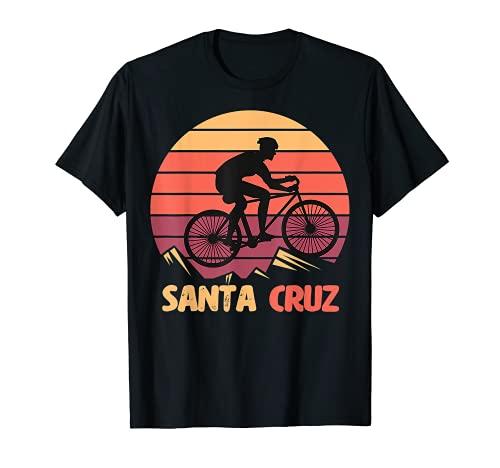 Bici Retro Vintage Santa Cruz Bicicletta Estiva Maglietta