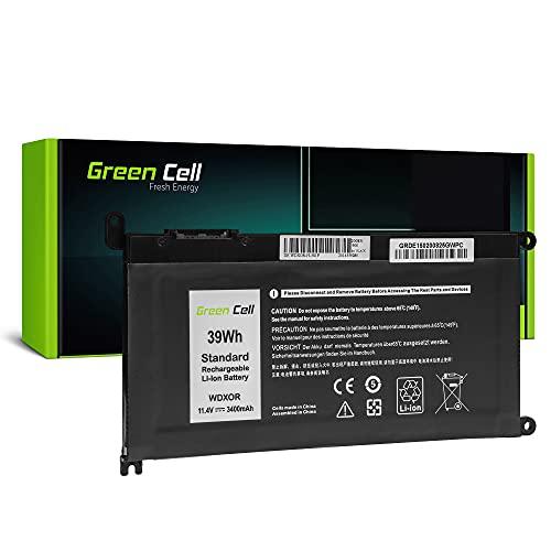 Green Cell Akku Batterie WDX0R WDXOR für Dell Inspiron 13 5368 5378 5379 14 5482 15 5565 5567 5568 5570 5578 5579 7560 7570 17 5770 (3400mAh 11.4V 39Wh)