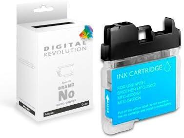 Digital Revolution Tintenpatrone Brother Lc 1100 Lc 980 Schwarz Kompatible Xxxl Druckerpatrone 20 Ml Tintenpatrone Passend Für Brother Dcp Und Mfc Bürobedarf Schreibwaren