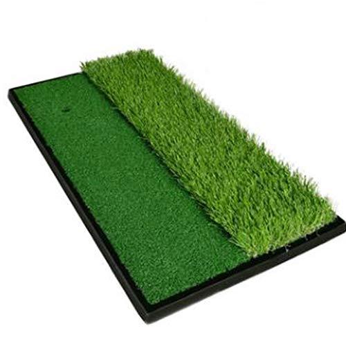 IMDOU Estera práctica del Golf para el jardín Campo De La Estera, Estera De La Práctica, Mat Práctica De Tres-en-uno, Movimiento Hierba Larga Y Al Aire Libre Golf Mate jardín y Neta (Color : Green)