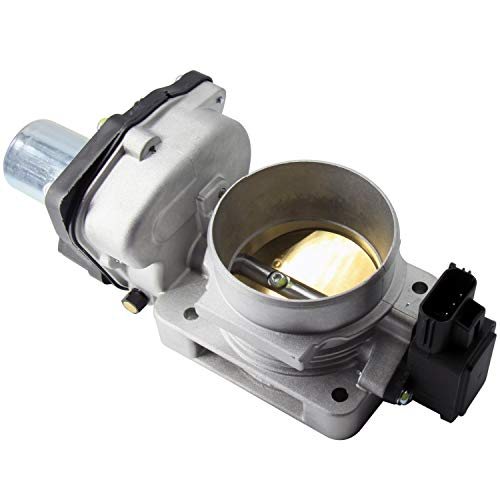 HOWYAA HYVE65B Electronic Throttle Body Assembly W/IAC Idle Air Control Valve 65mm for 2004-2015 Mustang Explorer F150 F250 E150 E250 E350 Crown Victoria
