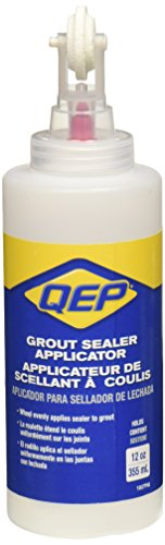 Qep, 10279Q, Grout Sealer Bottle w/Roller, 12 oz