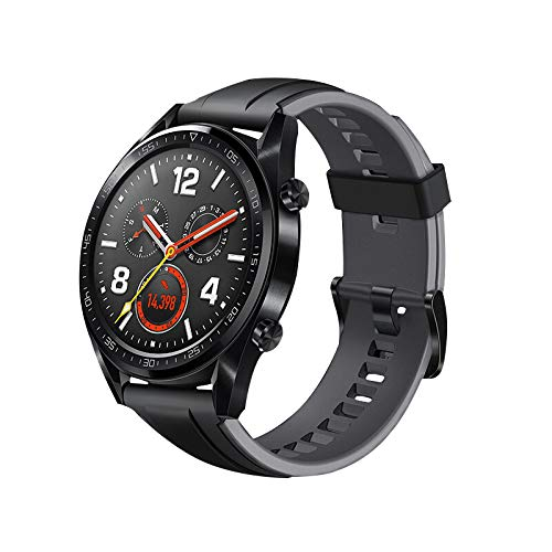 Cobar Watch Band Vervanging voor Galaxy Horloge (46mm), 22mm Quick Release Verstelbare Zachte Siliconen Sport Horloge Band Vervanging voor Samsung Galaxy Horloge (46mm)/SM-R800/SM-R805, 22MM, Grijs