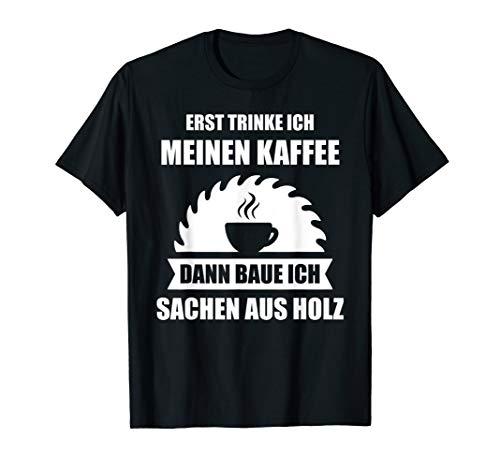 Herren Schreiner Handwerker Tischler Meister Spruch Geschenk T-Shirt