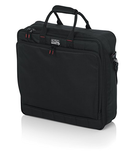 Gator Cases Padded Nylon Mixer/Gear Carry Bag with Removable Strap; 18' x 18' x 5.5' (G-MIXERBAG-1818)