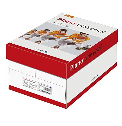 Papyrus 88141589 Drucker-/Kopierpapier PlanoUniversal FSC, 80 g/qm, DIN A3, 5 x 500 Blatt, matt, weiß - Allround Kopierpapier
