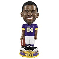 Randy Moss #84 (Minnesota Vikings) NFL Knucklehead Legends Bobble by Foco