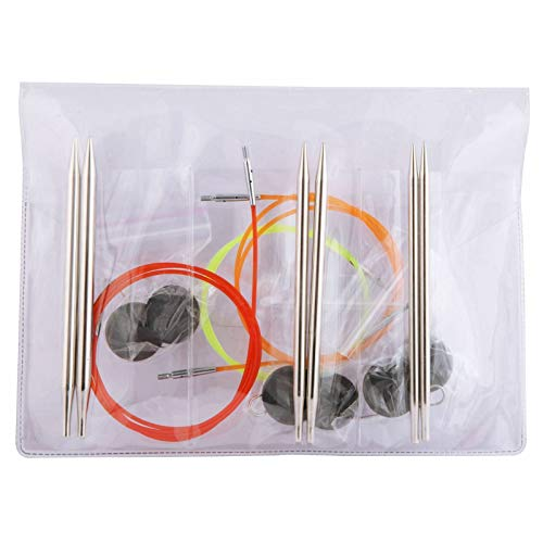 KnitPro Set Nova Metal Ferri da Maglia circolari intercambiabili