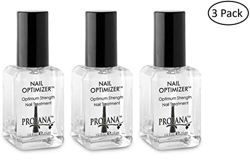 Prolana Nail Optimizer Ultimate One-step Nail Strengthener .5 ounces (3 Pack)