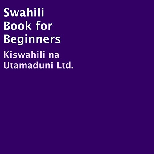 Swahili Book for Beginners audiobook cover art