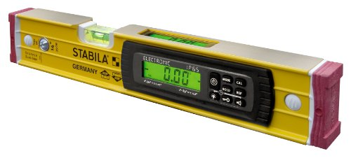 Stabila 36514 14-Inch Electronic Dust and Waterproof IP65 TECH Level with Case