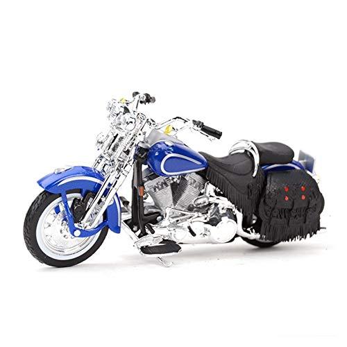 DSWS Motocicleta Miniatura 1:18 para Harley Springer1999 Die Vehículos Cast Collectible Hobbies Motorcycle Model Toys Regalos De Cumpleaños para Niños