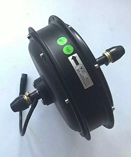 GZFTM 1500W 48V Rueda Trasera Hub Motor eléctrico para Bicicleta de montaña Bicicleta eléctrica Motor Motor