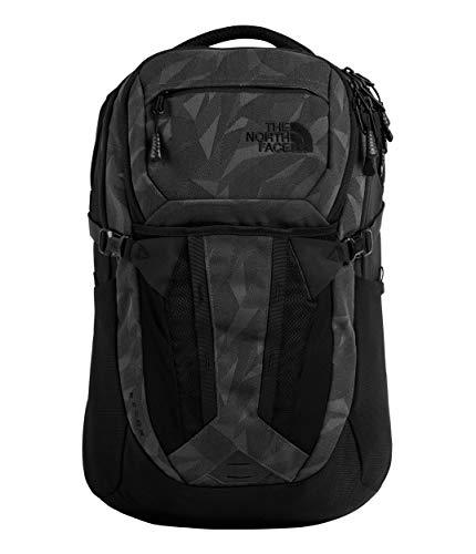 The North Face Recon Backpack, TNF Black Camo Jacquard/TNF Black