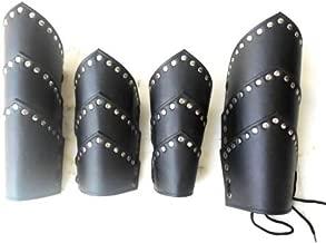 NauticalMart Medieval Faux Leather ARM Guard & Leg Guard