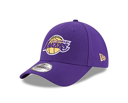 New Era Nba The League Los Angeles Lakers Offical Team Gorra para Hombre, Morado, Talla Unica