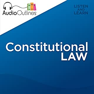Constitutional Law audiobook cover art