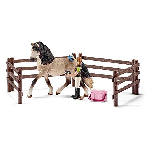 Schleich 42270 - Pferdepflegeset, Andalusier