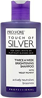 Pro:voke Touch of Silver Professional Twice a Week Brightening Shampoo (150ml) by Provoke
