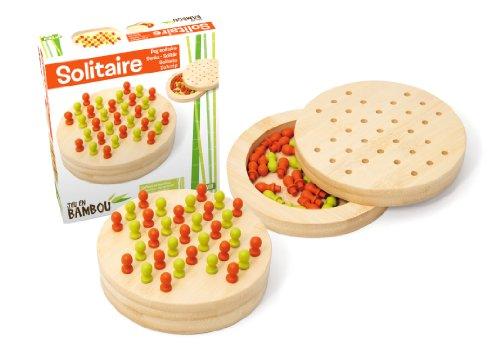 Jeujura JeujuraJ66104 Bamboe-solitair spel